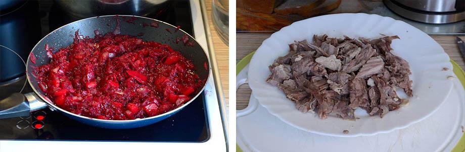 Борщ рецепт классический с говядиной