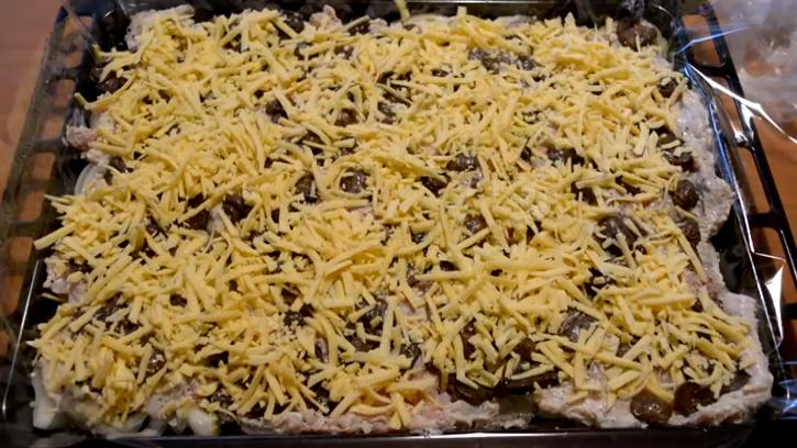 с грибами и сыром 2