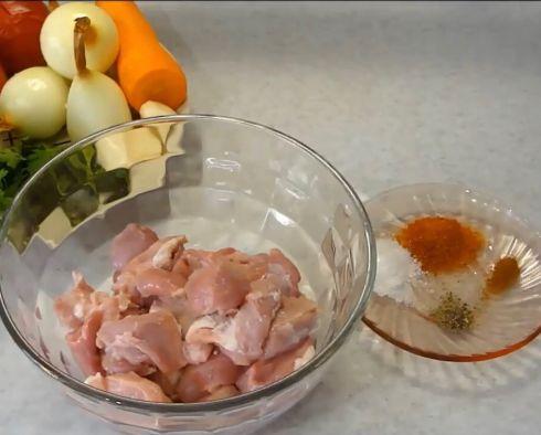 Мягкая свинина на сковороде 1