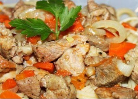 рецепт мяса