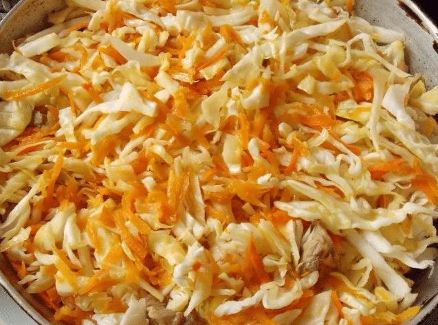 приготовления капусты тушеной с мясом 6