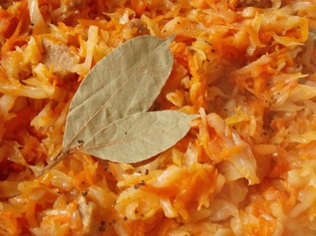 приготовления капусты тушеной с мясом 7