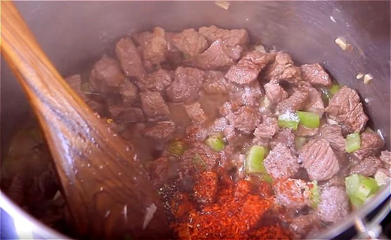Приготовление лагмана по-узбекски
