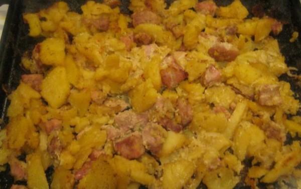 картофель запеченная