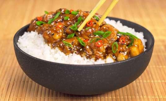 Как приготовить курица терияки с рисом
