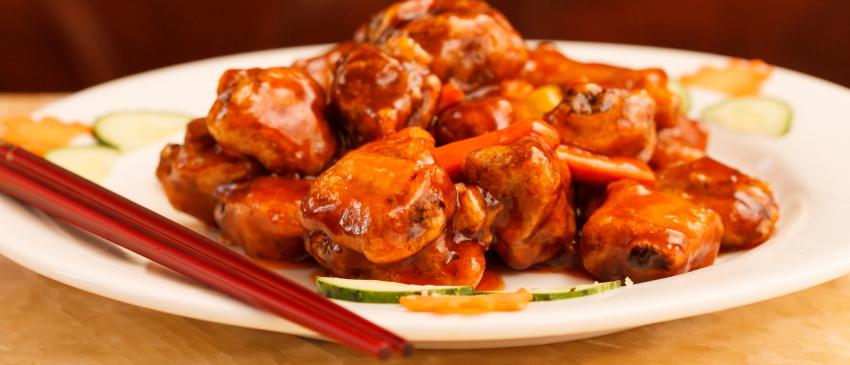 Курица по-китайски в кисло-сладком соусе рецепт