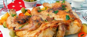 Курица табака в духовке рецепт