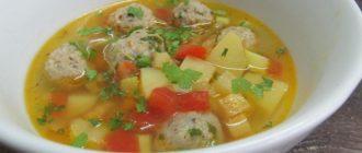 Фрикадельки для супа из фарша свинины – рецепты