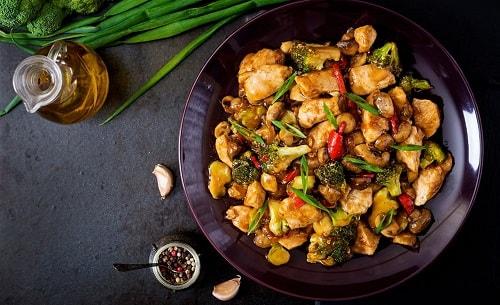 курица терияки рецепт с овощами-min