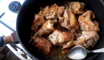 Как вкусно и просто приготовить кролика на сковороде кусочками
