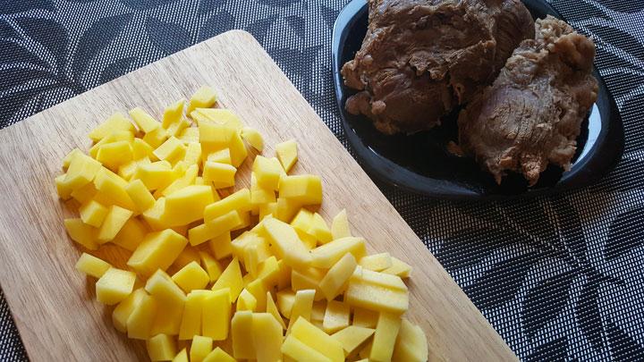 Рецепт борща с говядиной - шаг 2