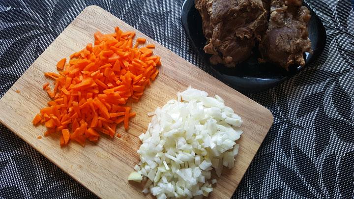 Рецепт борща с говядиной - шаг 4