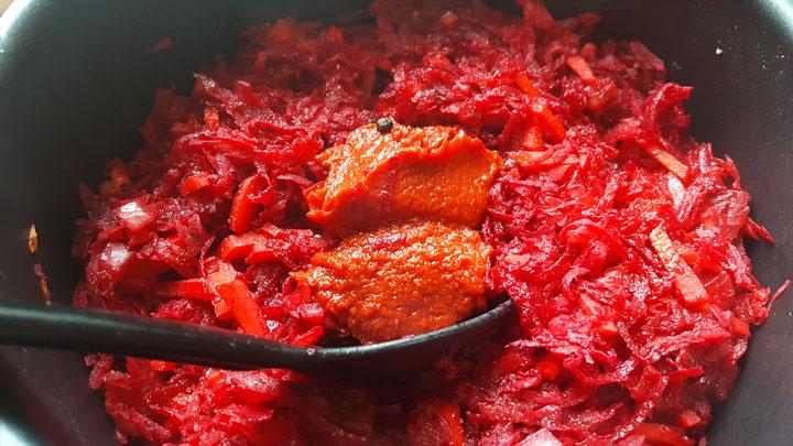 Рецепт борща с говядиной - шаг 7
