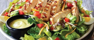 Салат с куриным филе рецепты