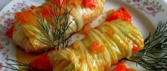 Голубцы из пекинской капусты с фаршем и рисом рецепты