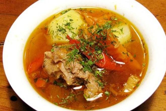 Как приготовить суп из бараньего мяса
