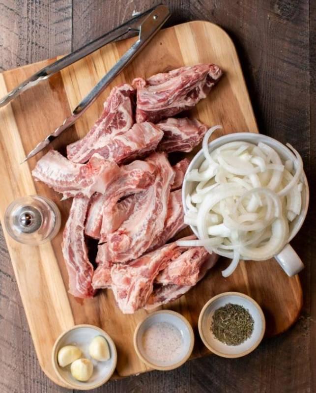 Говяжьи ребрышки с картошкой: рецепты приготовления