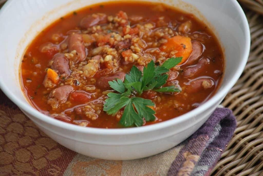 Суп харчо с ткемали - рецепт приготовления