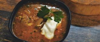 Харчо рецепт классический из баранины с рисом