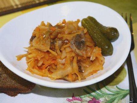 Дополняем блюдо грибами