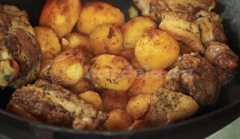 Баранина в казане с картошкой – рецепты