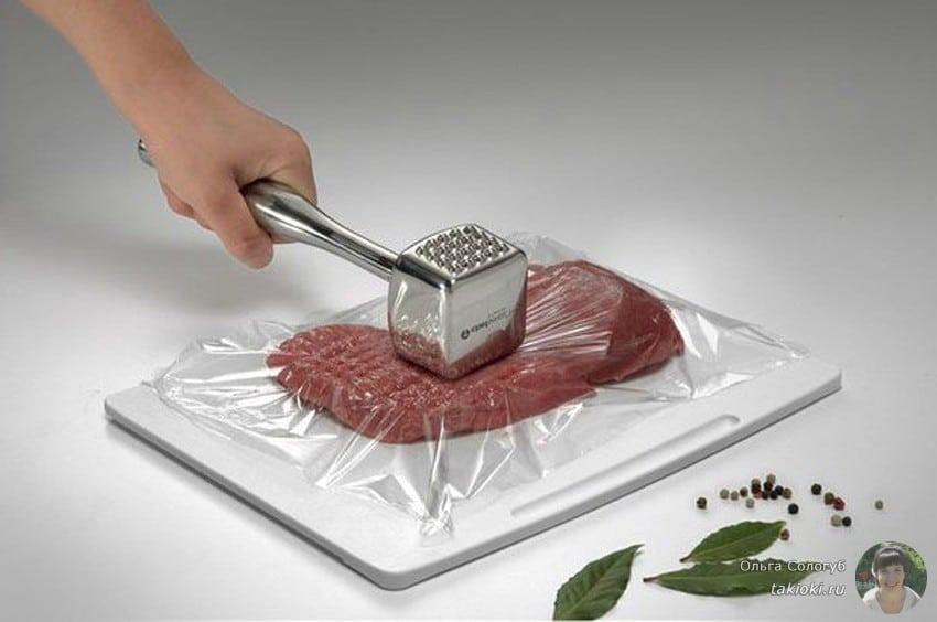 Баранина на сковороде-гриль