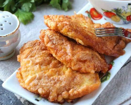 куриные отбивные на сковороде