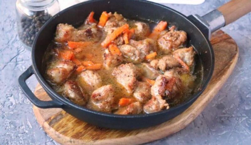 Свинина на сковороде: 9 простых и вкусных рецептов этап 31