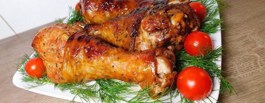 Голень индейки в духовке рецепты