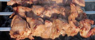 Шашлык из индейки маринад самый вкусный